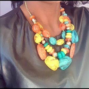 Colorful Chain Necklace